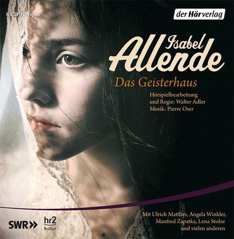 Das Geisterhaus, 8 Audio-CDs - Allende, Isabel