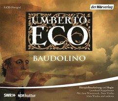 Baudolino, 5 Audio-CDs - Eco, Umberto