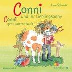 Meine Freundin Conni, Conni und ihr Lieblingspony / Conni läuft Laterne, Audio-CD