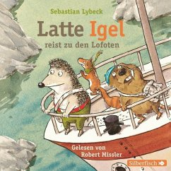 Latte Igel reist zu den Lofoten, 2 Audio-CDs - Lybeck, Sebastian