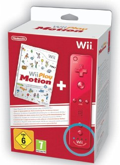 Wii Play Motion (inkl. Wii Fernbedienung plus in rot)