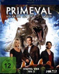 Primeval: Rückkehr der Urzeitmonster - Staffel 4, Teil 2 (2 Discs)