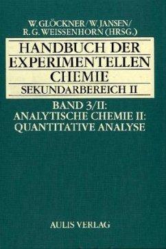 Analytische Chemie / Handbuch der experimentell...