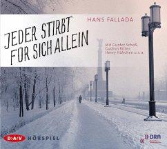 Jeder stirbt für sich allein, 2 Audio-CDs - Fallada, Hans