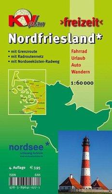 KVplan Freizeit Nordfriesland Kreis mit Sylt, A...