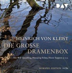 Die große Dramenbox, 9 Audio-CDs - Kleist, Heinrich von
