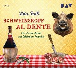 Schweinskopf al dente / Franz Eberhofer Bd.3 (4 Audio-CDs) - Falk, Rita
