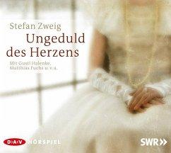 Ungeduld des Herzens, 2 Audio-CDs - Zweig, Stefan