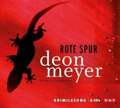 Rote Spur, 5 Audio-CDs - Meyer, Deon