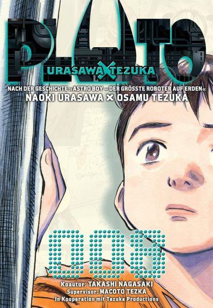 Buch-Reihe Pluto: Urasawa X Tezuka