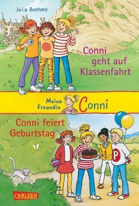 Conni geht auf Klassenfahrt & Conni feiert Geburtstag / Meine Freundin Conni Bd.3 und 4 - Boehme, Julia
