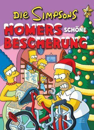 homers sch ne bescherung simpsons weihnachtsbuch bd 2. Black Bedroom Furniture Sets. Home Design Ideas