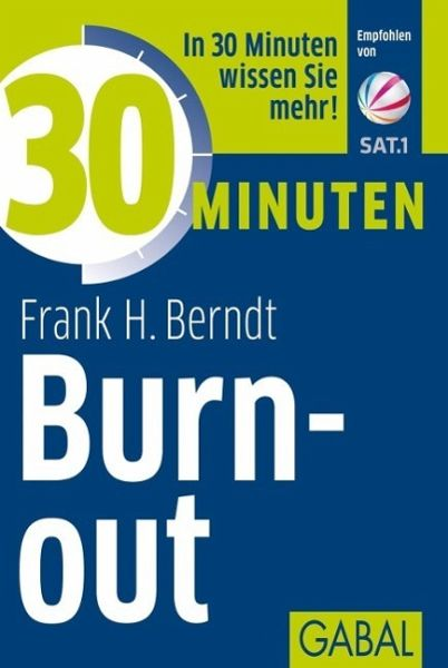 30 Minuten Burn-out - Berndt, Frank H.