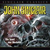 Die Insel der Skelette / John Sinclair Classics Bd.10 (1 Audio-CD)
