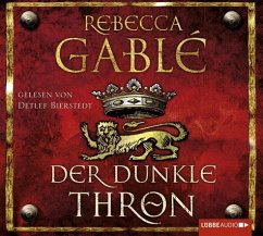 Der dunkle Thron / Waringham Saga Bd.4 (12 Audio-CDs) - Gablé, Rebecca