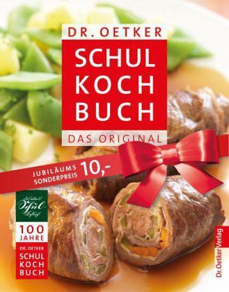 Dr. Oetker Schulkochbuch, Jubiläumsausgabe - Oetker