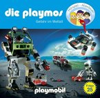 Gefahr im Weltall / Die Playmos Bd.25, 1 Audio-CD