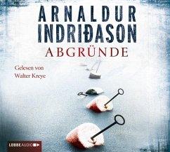 Abgründe / Kommissar-Erlendur-Krimi Bd.10, 4 Audio-CDs - Indriðason, Arnaldur