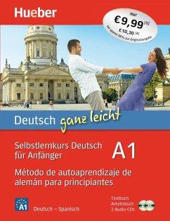 Deutsch ganz leicht A1. Spanisch - Luscher, Renate