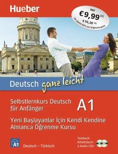 Deutsch ganz leicht A1. Türkisch - Luscher, Renate