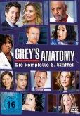 Grey's Anatomy: Die jungen Ärzte - Die komplette sechste Staffel (6 DVDs)