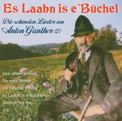 Es Laabn Is E Büchel - Anton Günther
