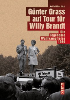 Günter Grass auf Tour für Willy Brandt