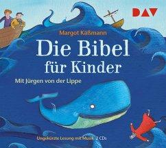 Die Bibel für Kinder, 2 Audio-CDs - Käßmann, Margot