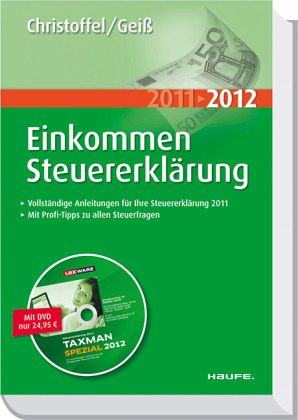 Einkommensteuererkl rung 2011 2012 m dvd rom for Christoffel innendekoration flims