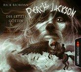 Die letzte Göttin / Percy Jackson Bd.5 (4 Audio-CDs)