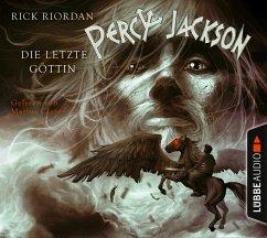 Die letzte Göttin / Percy Jackson Bd.5 (4 Audio-CDs) - Riordan, Rick