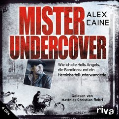 Mister Undercover, 4 Audio-CDs