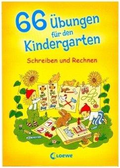 66 Übungen für den Kindergarten, Schreiben und ...