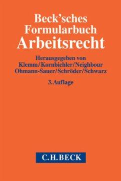 Beck'sches Formularbuch Arbeitsrecht, m. CD-ROM