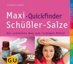 Maxi-Quickfinder Schüßler-Salze - Heepen, Günther H.