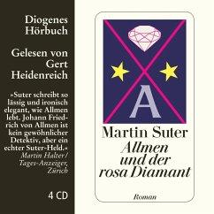 Allmen und der rosa Diamant / Johann Friedrich Allmen Bd.2 (4 Audio-CDs) - Suter, Martin