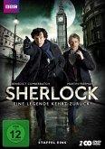 Sherlock - Eine Legende kehrt zurück! Staffel eins (2 Discs)