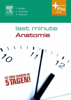 Last Minute Anatomie - Rengier, Fabian;Jaschinski, Christoph;Holtmann, Henrik