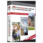 Das ultimative Haus-, Wohnungs-, Gartendesigner Paket (Download für Windows)