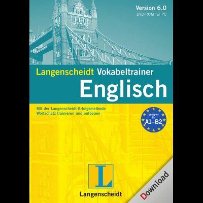 Langenscheidt vokabeltrainer 6 0 englisch download f r windows for Vokabeltrainer englisch