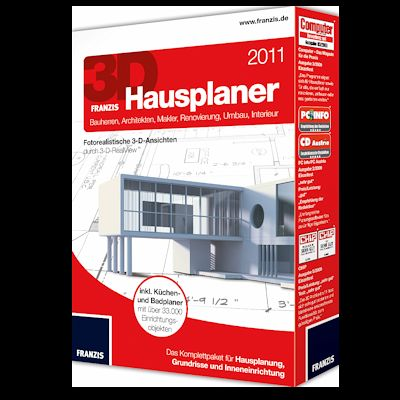 3d hausplaner 2011 download f r windows. Black Bedroom Furniture Sets. Home Design Ideas