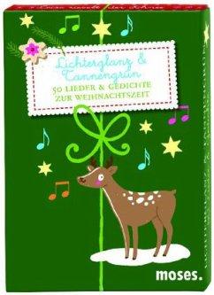 Lichterglanz & Tannengrün, 50 Karten