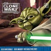 Star Wars, The Clone Wars (01) Der Hinterhalt - Der Angriff der Malevolence, 1 Audio-CD