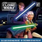 Star Wars, The Clone Wars (02) Der Schatten der Malevolence - Die Zerstörung der Malevolence, 1 Audio-CD