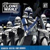 Star Wars, The Clone Wars (03) Rekruten - Der Fall eines Droiden, 1 Audio-CD