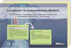 Lernkarten Grundwortschatz Medizin - 324 Karteikarten zum Einstieg in die medizinische Fachsprache: Fachbegriffe, Fremdwörter & Terminologie - Deschka, Marc
