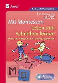 Mit Montessori Lesen und Schreiben lernen - Lindauer, Eva; Müller, Sabine