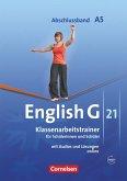 English G 21. Ausgabe A 5. Abschlussband 5-jährige Sekundarstufe I. Klassenarbeitstrainer mit Lösungen und CD
