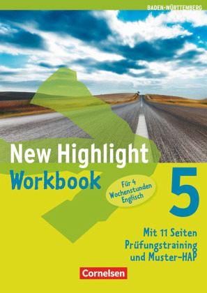 New Highlight 05: 9. Schuljahr. Werkrealschulen (4 Wochenstunden). Workbook Baden-Württemberg