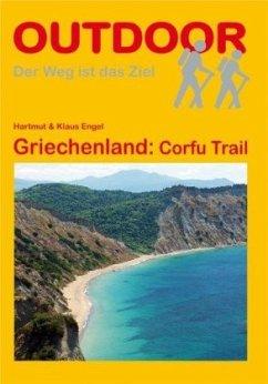 Griechenland: Corfu Trail - Engel, Hartmut; Engel, Klaus